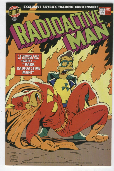 Radioactive Man #412 Bongo Comics Simpsons VF