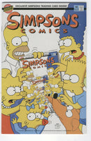 Simpsons Comics #4 It's In The Cards! VF