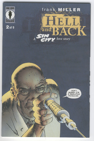 Sin City Hell And Back #2 Frank Miller Mature Readers NM