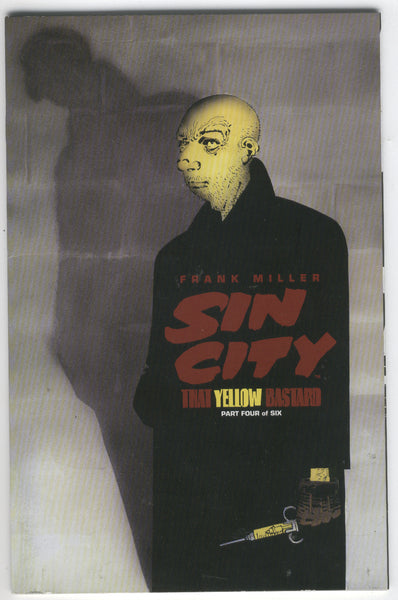 Sin City That Yellow Bastard #4 Frank Miller VF