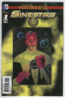 Sinestro #1 DC New 52 Future's End 3D Lenticular Cover First Print NM