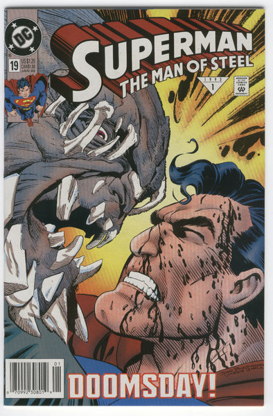 Superman The Man of Steel #19 Doomsday!  News Stand Variant VFNM