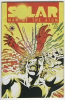 Solar Man Of The Atom #2 Early Valiant w/ Poster Insert FN