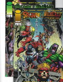 Spawn / Wildcats 1-4 Complete 1996 Miniseries All VF or Better