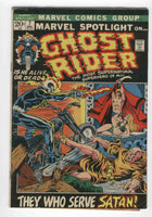 Marvel Spotlight #7 3rd Ghost Rider Ploog Art Bronze Age Horror Key VG