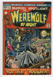 Marvel Spotlight #4 Werewolf By Night Ploog Art Bronze Age Key FVF