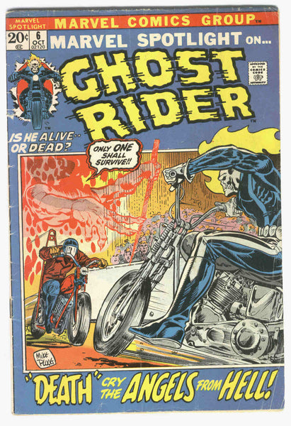 Marvel Spotlight #6 Second Appearance of The Ghost Rider Ploog art Bronze Age Key GVG