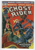 Marvel Spotlight #8 Ghost Rider The Witch-Man Cometh Ploog Art Bronze Age Key VG