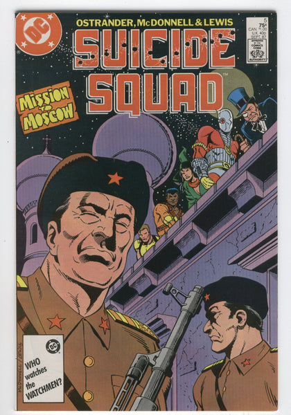 Suicide Squad #5 Mission To Moscow VF