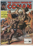 Savage Sword Of Conan #188 Wizards And Warriors VF