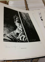 Stephen King's The Stand Portfolio Signed Berni Wrightson Limited #963 of 1200 NM