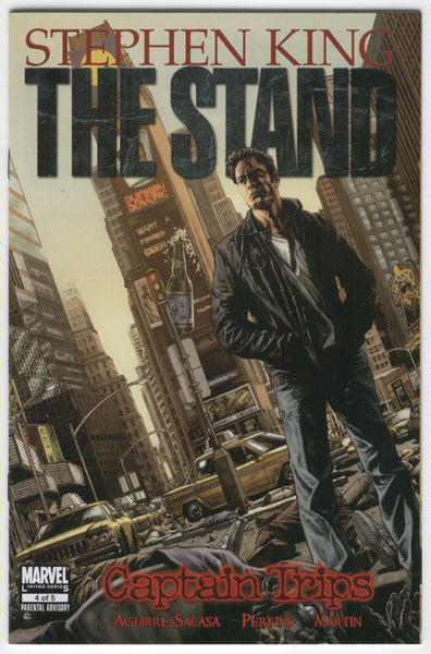 Stephen King The Stand Captain Trips #4 of 5 Mature Readers VFNM