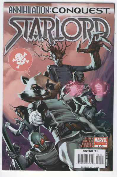 Annihilation Conquest:  Starlord #2 Rocket Raccoon VFNM