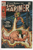 Sub-Mariner #17 The Stalker From The Stars Silver Age Classic VG