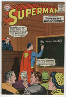 Superman #176 The Day Of Truth Silver Age Classic VG