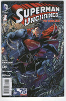 Superman Unchained #1 Signed Scott Snyder w/ Poster Insert VFNM