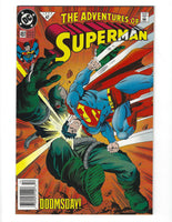 Adventures Of Superman #497 Doomsday! News Stand Variant VF