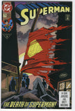 Superman #75 First Print Doomsday Death Issue VF