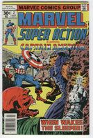 Marvel Super Action #2 Bronze Age Captain America Reprint Series FVF