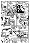 Superman / Wonder Woman Radio Shack Promo Comic Curt Swan Original Art Issue 3 Page #8 excellent!