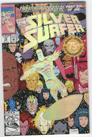 Silver Surfer #75 The Herald Ordeal Fancy Foil Cover NM