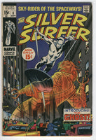 Silver Surfer #8 Introducing The Ghost! Silver Age Classic VGFN