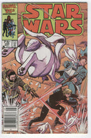 Star Wars #105 The Party's Over HTF Later Issue News Stand Variant FVF