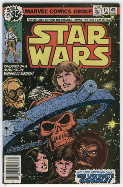 Star Wars #19 The Ultimate Gamble Bronze Age FN