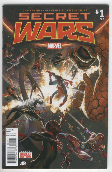 Secret Wars #1 NM-
