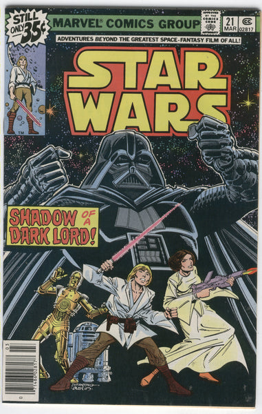 Star Wars #21 Shadow Of A Dark Lord Bronze Age FN