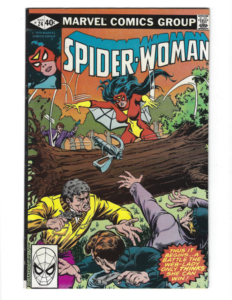 Spider-Woman #24 Thus It Begins... Bronze Age FN