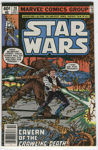 Star Wars #28 Cavern Of The Crawling Death Bronze Age FN