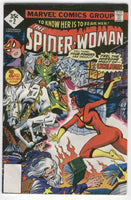 Spider-Woman #2 The Awesome Excalibur Bronze Age Whitman Variant VG