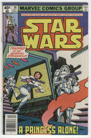 Star Wars #30 A Princess Alone Bronze Age FN