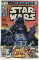 Star Wars #35 Dark Lord's Gambit News Stand Variant FN