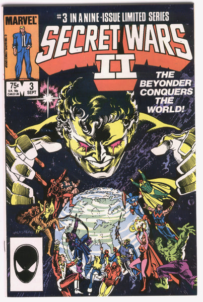 Secret Wars II #3 The Beyonder Conquers VFNM
