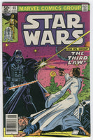 Star Wars #48 Leia vs. Vader News Stand Variant FN