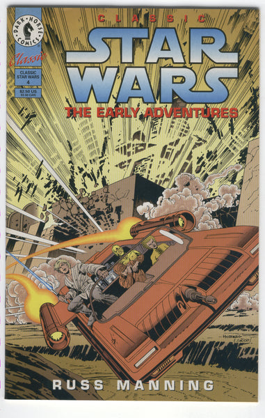 Classic Star Wars The Early Adventures #4 Russ Manning Art VFNM