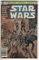 Star Wars #50 Super-Sized Saga News Stand Variant FVF