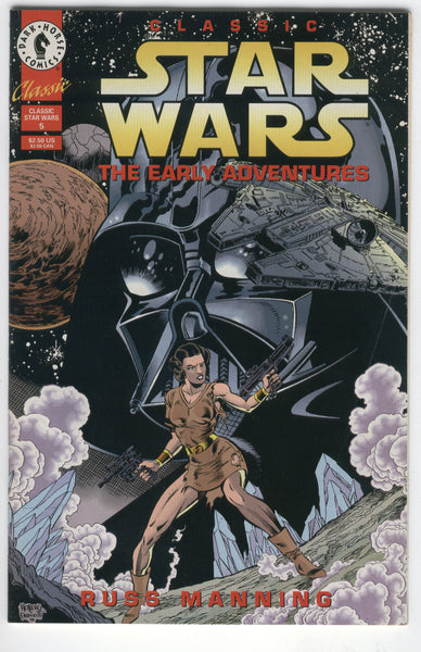Classic Star Wars The Early Adventures #5 Dark Horse Comics Russ Manning Art VF