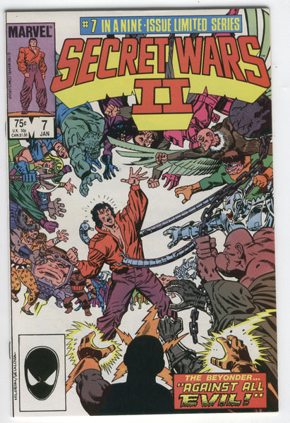 Secret Wars II #7 Against All Evil VFNM