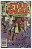 Star Wars #85 Hunter's World! News Stand Variant FN