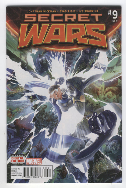 Secret Wars #9 Black Panther Has The Infinity Gauntlet! NM-