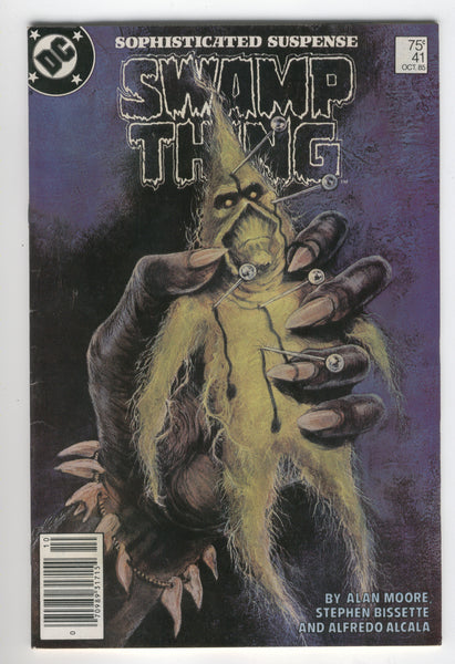 Swamp Thing #41 Southern Change Alan Moore News Stand Variant FN