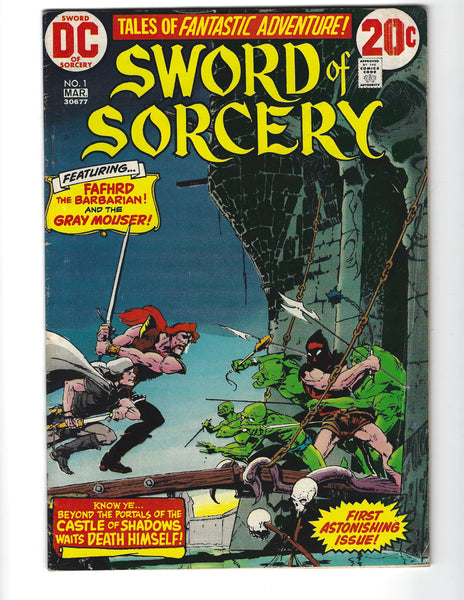Sword Of Sorcery #1 Chaykin Art Bronze Age VGFN