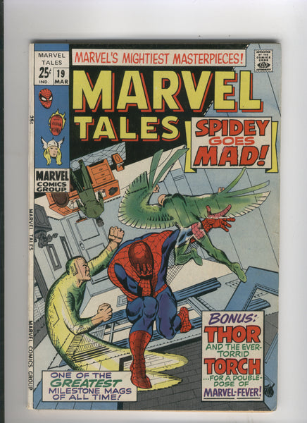 Marvel Tales #19 Spidey Goes Mad! Silver Age Giant VF
