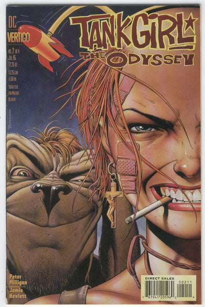 Tank Girl Odyssey #2 Bolland Cover Mature Readers FVF