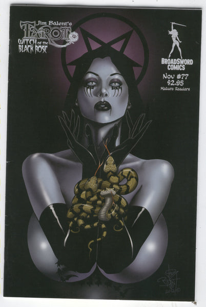 Tarot: Witch Of The Black Rose #77 VERY Mature Readers FVF