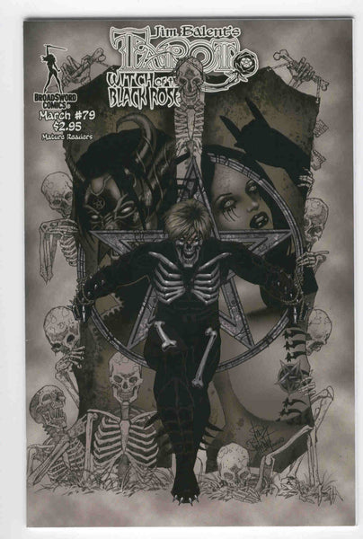 Tarot Witch Of The Black Rose #79 Jim Balent Mature Readers VFNM