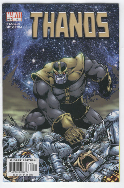 Thanos #4 The Hunger Of Galactus Starlin Story & Art VF